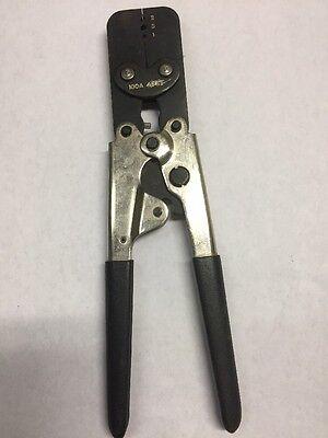 Hand Ratchet 1 2 3 Crimp Crimper Crimping Tool Molex Waldom