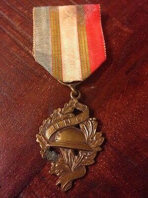 Ww1 French Veteran UNC Military Medal