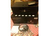 KITSOUND BOOMDOCK MD332 2.1 Black Docking Station Speaker System - (4,4S) - BOX