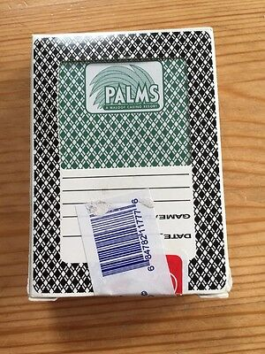 Pack/Deck of PALMS Playing Poker Cards -  Las Vegas. Sealed As Actually Used, used for sale  Basildon
