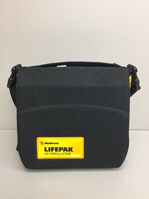 Lifepak 500 Medtronic Physio-control Case Only Black With Shoulder Straps