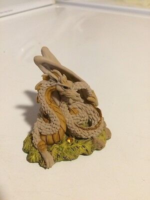 Enchantica  RARE SUNFIRE DRAGON Collectible Figure RETIRED