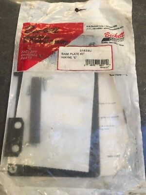 New Beckett 51833u Base Plate Kit Wayne E Ignitor Burner