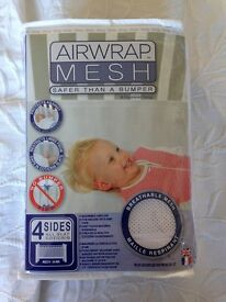 Airwrap cot bumper four sided