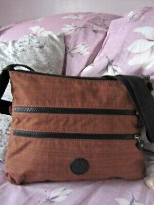 Kipling Alvar BP Cross-body bag Dazzling Brown. Excellent! RRP £79!