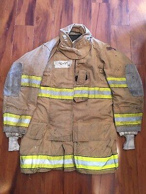 Firefighter Globe Turnout Bunker Coat 40x35 G-xtreme Halloween Costume