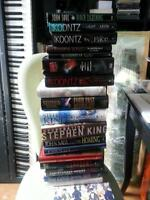 You get 19 Hardcover popular horror titles for only $20.00...
