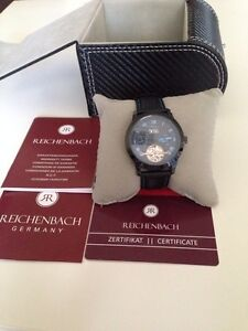 Reichenbach Automatic Men's Leather Luxury Sport Watch RB509-622B , New in box