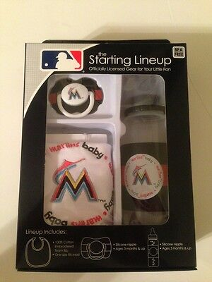 Florida Marlins Gear For Your Little Fan By The Starting Lineup New In Box - Florida Marlins Gear