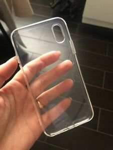 Thin Clear case for iPhone X - Xs