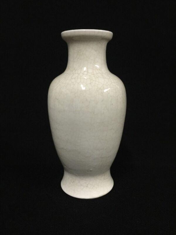 18/19th Century Chinese Porcelain Crackle Glaze Vase