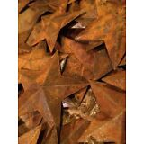 "Lot 100 Rusty Barn Stars 2.25 in 2 1/4"" Primitive Country Rusted Rust SHIPS FREE"