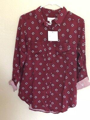 liz claiborne 3/4 Sleeve Tshirt Tall Size : Small Tall. - (N04)