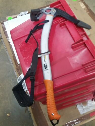 USED Petzl Charlet Government Surplus , With leash and cover