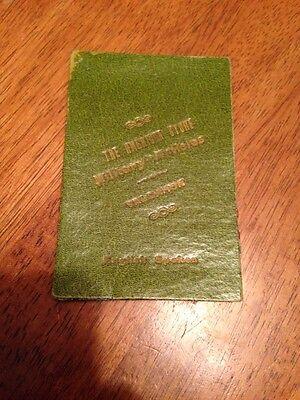 Vintage Passport?  The American Store Military Artieles Valdahon English Spoken