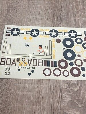 1/48 decals A-20 Havoc Sheet From Koster Kit
