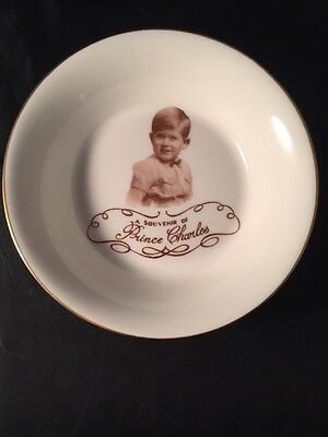Paragon A Souvenir Of Prince Charles Baby Child Portrait By Marcus Adams Bowl