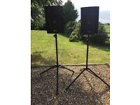 Skytec SL12 speakers