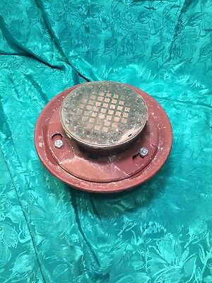 4 Wade Usa Made Tapped Cast Iron Floor Drain Nickel Bronze Top N H Connection
