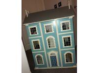 Furnished dolls house for sale