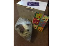 Churchill insurance nodding dog full size NEW in box and wrapping