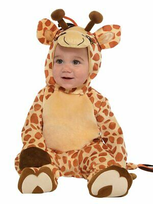 Giraffe Junior Costume Baby and Toddler Fancy Dress from 6 Months to 2 years
