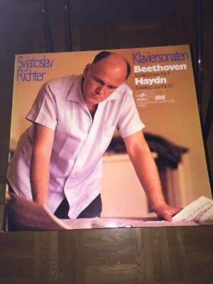 Beethoven/Haydn LP Klaviersonaten Svjatoslav Richter (246)