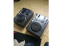 Pair Of American Audio CDJ Cd Decks - DJ - CDI 300