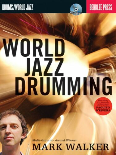 World Jazz Drumming Berklee Guide Book and CD NEW 050449568