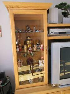 UNITÉ MURALE EN CHENE - BEAUTIFUL OAK WALL UNIT Gatineau Ottawa / Gatineau Area image 3