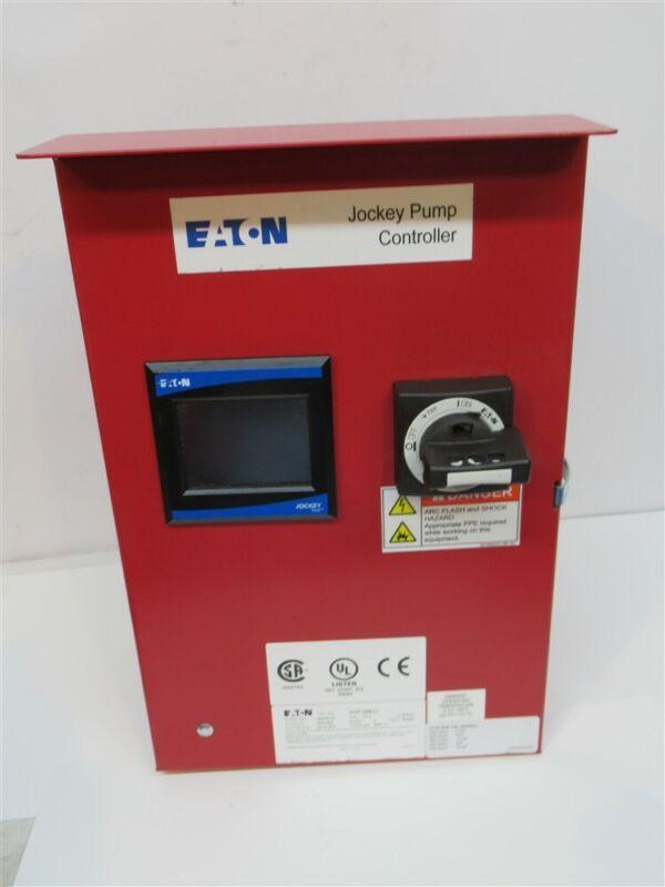 Eaton XTJP-G08-L1, Jockey Pump Controller, 200 - 600 Volt, 3 Phase