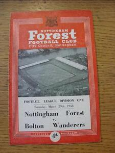29-03-1958-Nottingham-Forest-v-Bolton-Wanderers-Folded-Any-faults-with-this