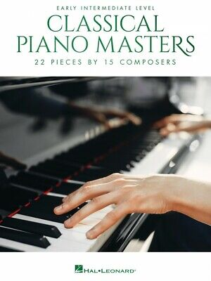 Classical Piano Masters Early Intermediate Level Sheet Music NEW 000329685