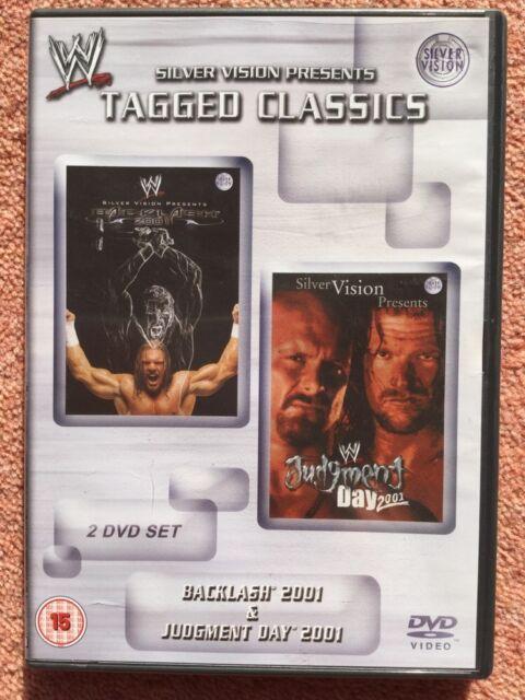 WWE Tagged Classics - Backlash & Judgment Day 2001 DVD Rare WWF
