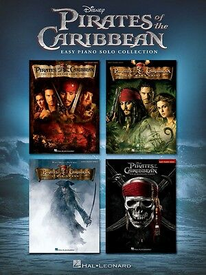 Pirates of the Caribbean Sheet Music Easy Piano Solo Collection Book 000196959