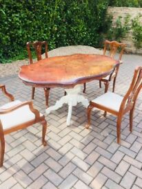 CHOICE OF 2 DINING TABLE WITH 4 chairs