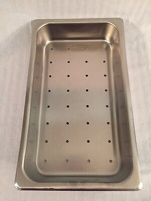 Bfe Inc. Stainless Steel Instrument Tray 16.5x9.5x2.5 Good Condition