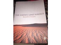 The Earth's Land Surface Kenneth Gregory