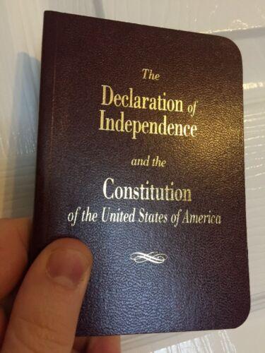 LARGE PRINT Pocket Size United States Declaration Of Indepen