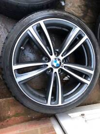 Genuine BMW 19 inch 442 orbit grey alloys bmw 3/4 series f30