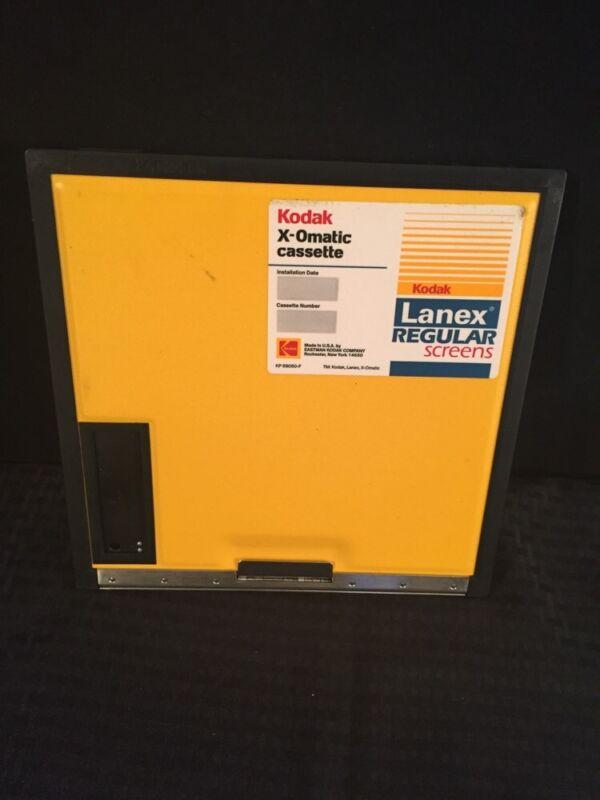 Kodak X-omatic Cassette Lanex Regular Screens 24x24cm Good Condition