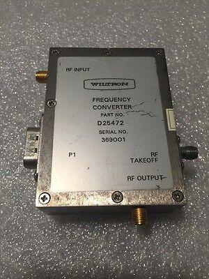 Wiltron Anritsu D25472 Frequency Converter For Vna Analyzer