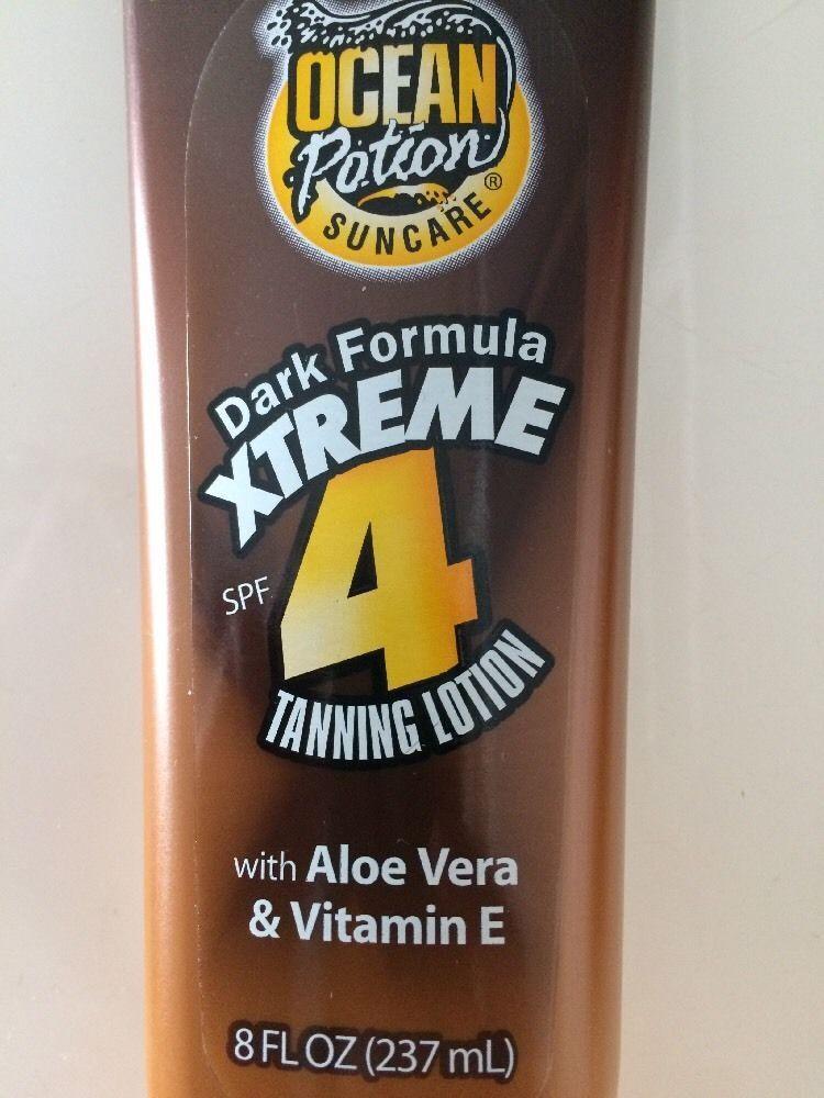 dark formula xtreme tanning lotion spf 4