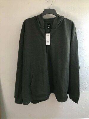 "Burton Khaki half zip Hoodie 4xl (58-60"") 147-152cm"
