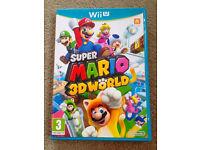 Super Mario 3D World - Nintendo Wii U Video Game - Fun Kids Childrens Platformer Game 1-4 Players