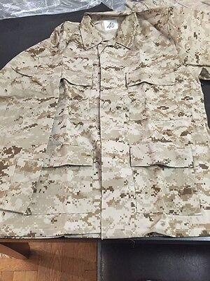 New USMC Marines Desert MARPAT Digital Camo Jacket, Size 40 High Quality for sale  Fresh Meadows