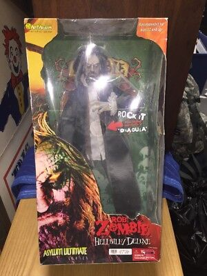 "18"" Rob Zombie Hellbilly Deluxe Asylum Ultimate Action Figure Doll Toy With Box"