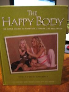Brand New The Happy Diet Book and Exercise Poster Plan