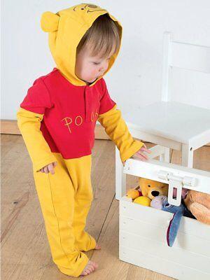 Winni Pooh Kostüm für Baby und Kleinkind Jerseystoff-Set Pu der Bär - Pooh Der Bär Kostüm