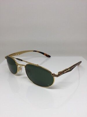 8d6e306190b Vintage Alpina 5585 Gold Eagle Aviator Sunglasses Low Profile Aviator  Sunglasses for sale Los Angeles